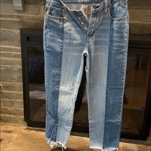 American Eagle Outfitters button fly vintage jeans